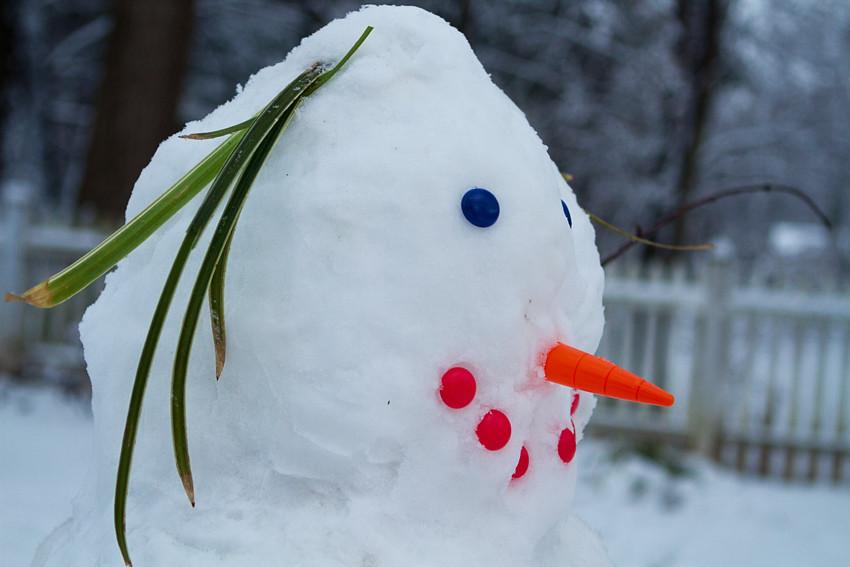 blog 1 snowman
