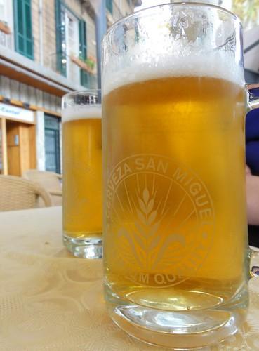 A Beer in Spain