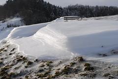 Bizzare Formen aus Schnee und Eis
