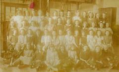 School Class, Camden Town area, North London (circa 1915)