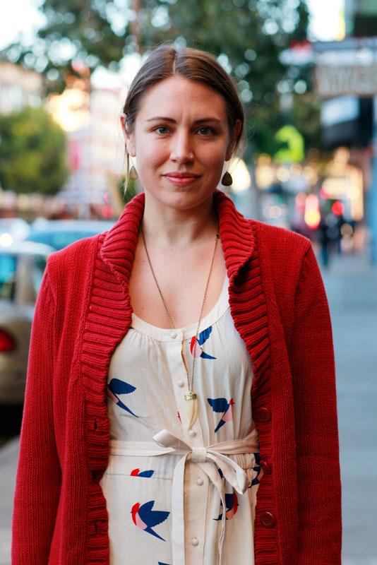lani_closeup street style, street fashion, women, San Francisco, Valencia Street