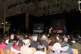 More than 1,000 people came to hear Vassula in Paris, France, 2012