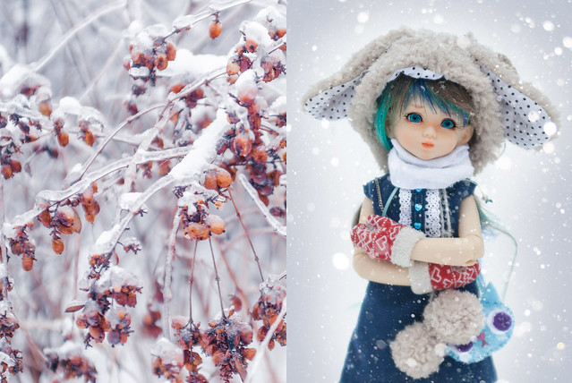 A Doll a day - Sunday - outside