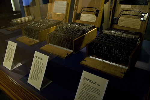 Three Enigma Machines