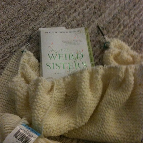 Yarn along. The Weird Sisters & February Lady Sweater