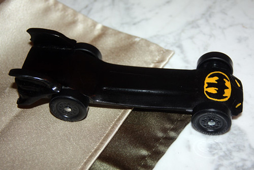 The Story Behind The Batmobile Pinewood Derby