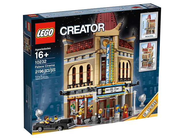 LEGO Creator Expert 10232 - Palace Cinema - Box Art Side