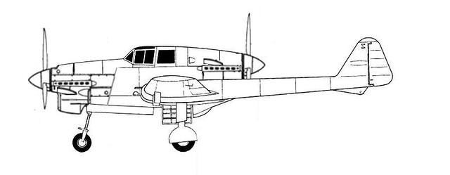 Fokker D.23 profile