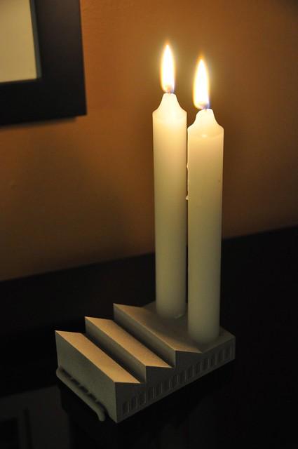 Candles Shaped Like Cakes