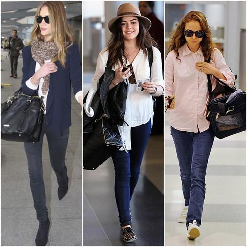 Aeroporto: com que roupa que eu vou?