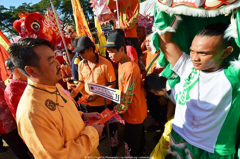 Pemberian Angpow