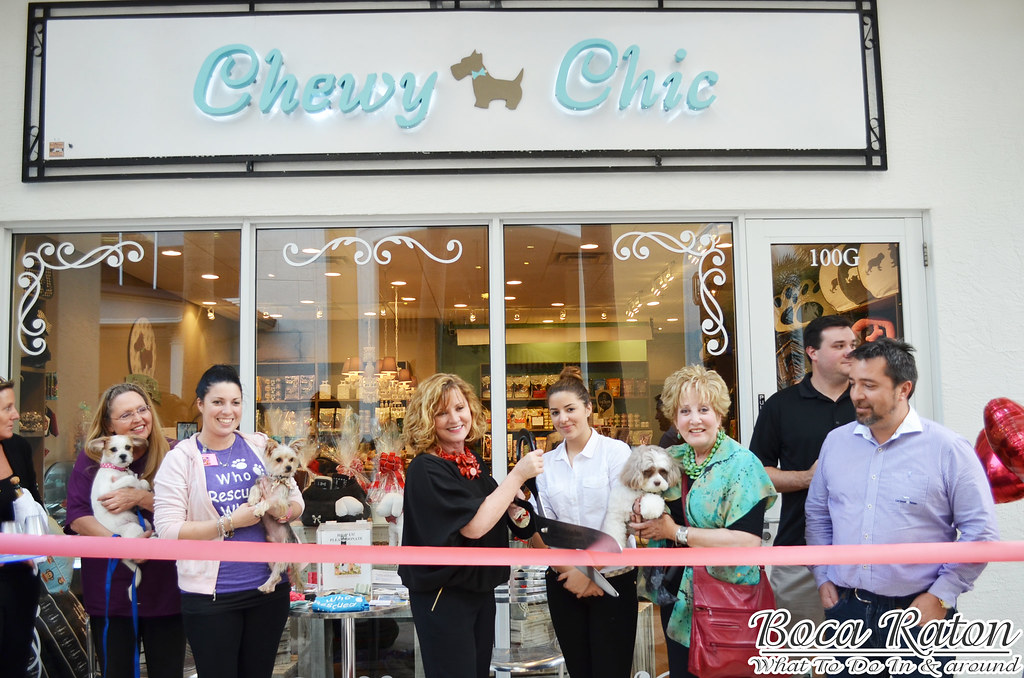 Chewy Chic Grand Opening