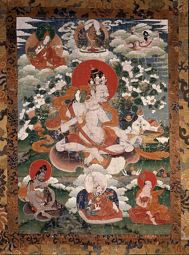 004-El Mahasiddha Dril-bu-pa, llevando Ghanta y Damasu-© The Trustees of the British Museum