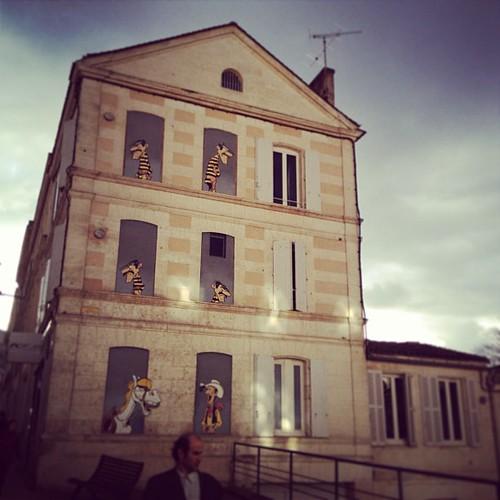 Nella cittá dei fumetti: Angouleme! In the city of comics! by la casa a pois