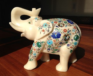Our Marble Inlay Elephant