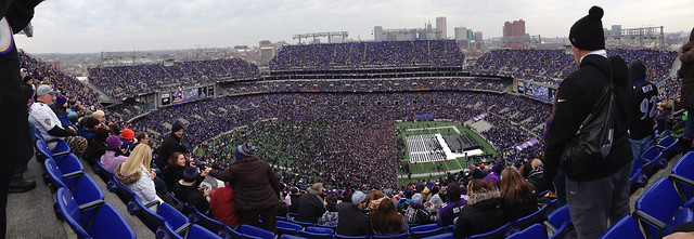 Ravens Superbowl Celebration Iphone Panorama