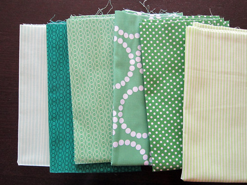 helpful fabrics - green