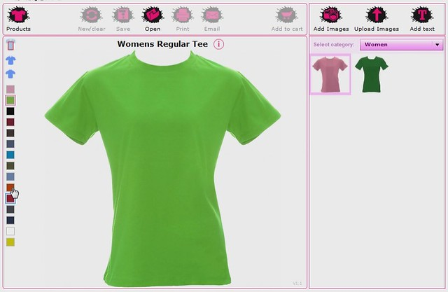 T Shirt Design Software By Flickr