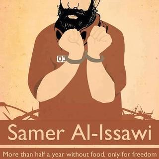 Samer Issawi: prigioniero della libertà in sciopero della fame da 201 giorni