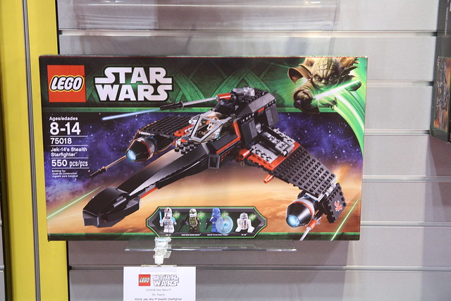 75018 Jek-14's Stealth Starfighter