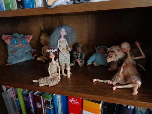 My Nefer doll shelf
