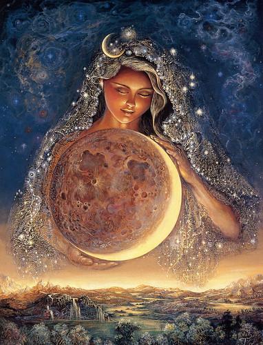 025-Diosa de la luna-Josephine Wall-via www.dana-mad.ru