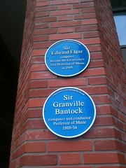 Photo of Granville Bantock blue plaque
