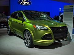 race car(0.0), world rally car(0.0), automobile(1.0), automotive exterior(1.0), sport utility vehicle(1.0), mini sport utility vehicle(1.0), wheel(1.0), vehicle(1.0), automotive design(1.0), ford escape(1.0), bumper(1.0), ford(1.0), land vehicle(1.0),