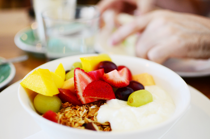 fruit muesli a