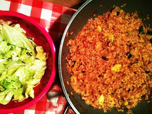 risotto met venkel en tomaat