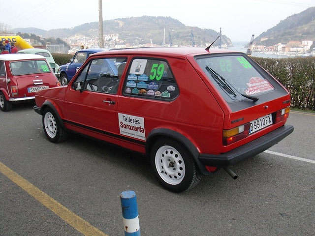 SALIDA VW GOLF GTI