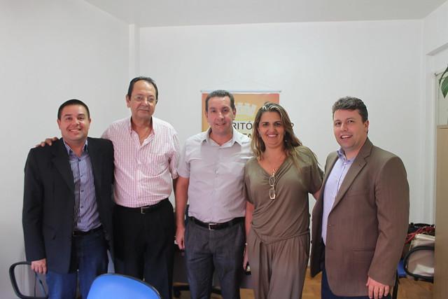 Reunião na prefeitura de Canoas