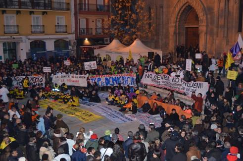 23-02-2013 Marea Ciutadana a Lleida #23f #todasunidas23f #totesunides23f
