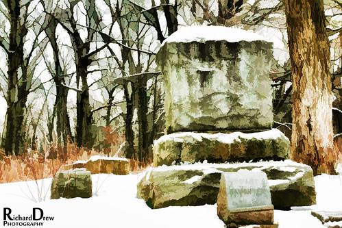 Bachelors Grove Cemetery - Winter - Feb. 2013