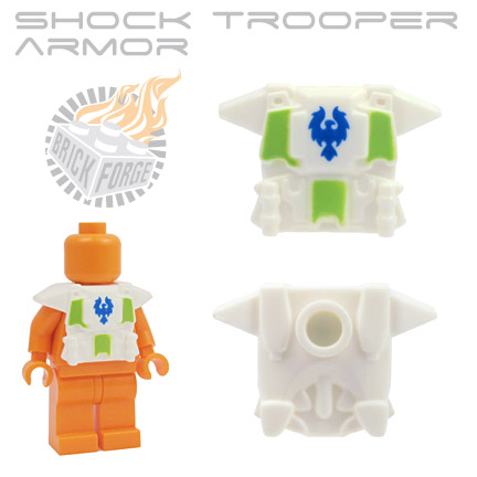 Shock Trooper Armor - White  (blue harrier emblem)