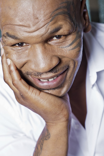 Mike Tyson Headshot