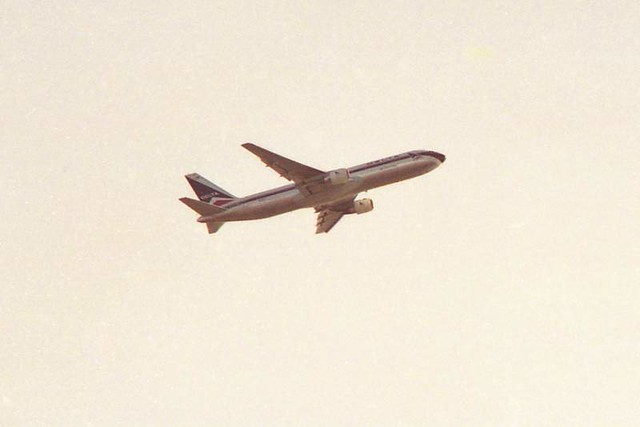 Delta Flight Leaving Copenhagen, 1997