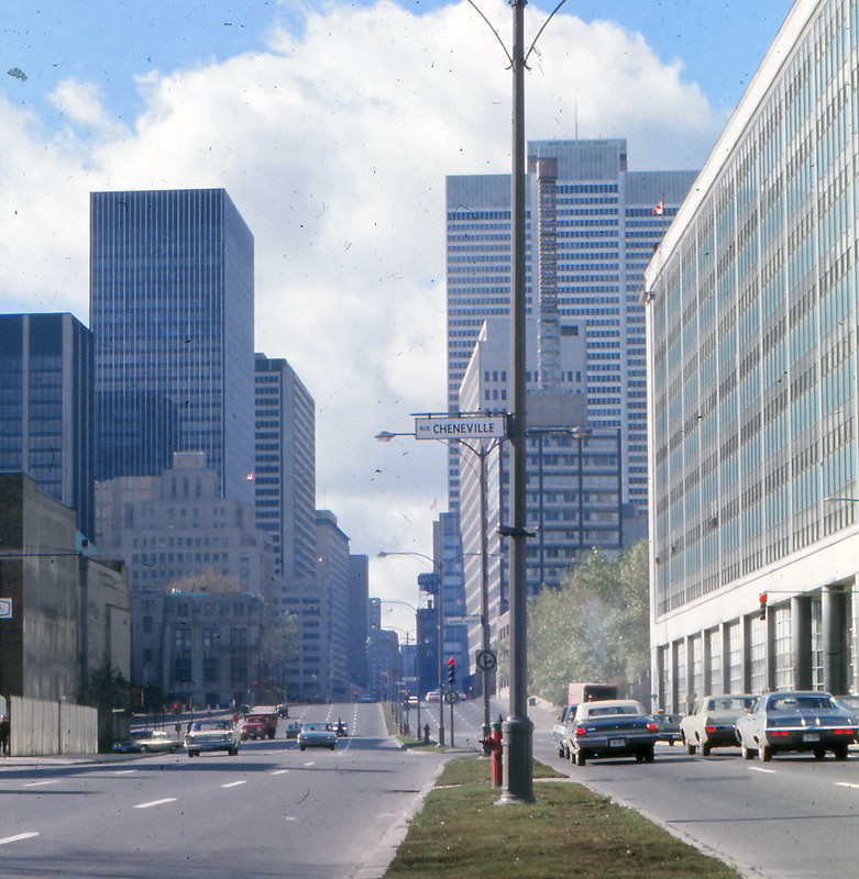 1970 looking west on Dorchester Montreal copy