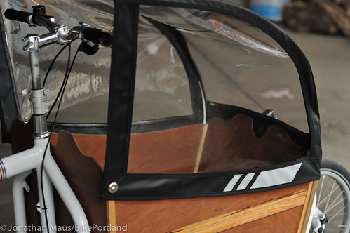 Cargo bike canopy from Blaq Design-7
