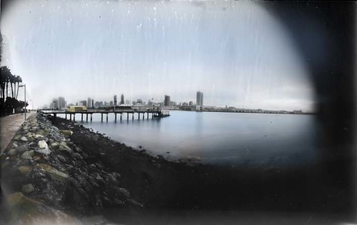 Coronado Island, overlooking San Diego Bay, California by Crunchy Footsteps