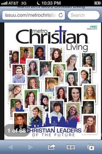 Betsie's magazine cover