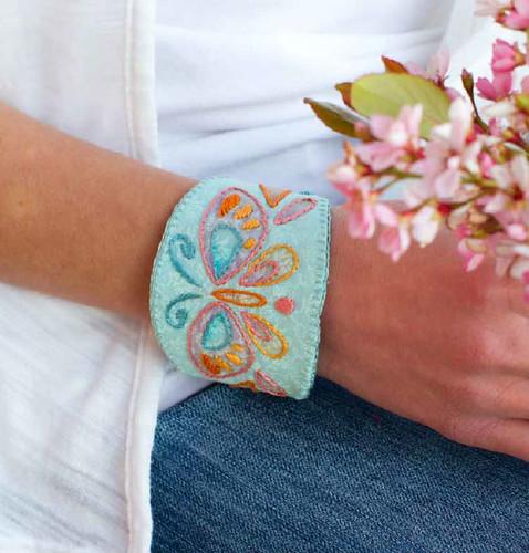 butterfly wrist cuff