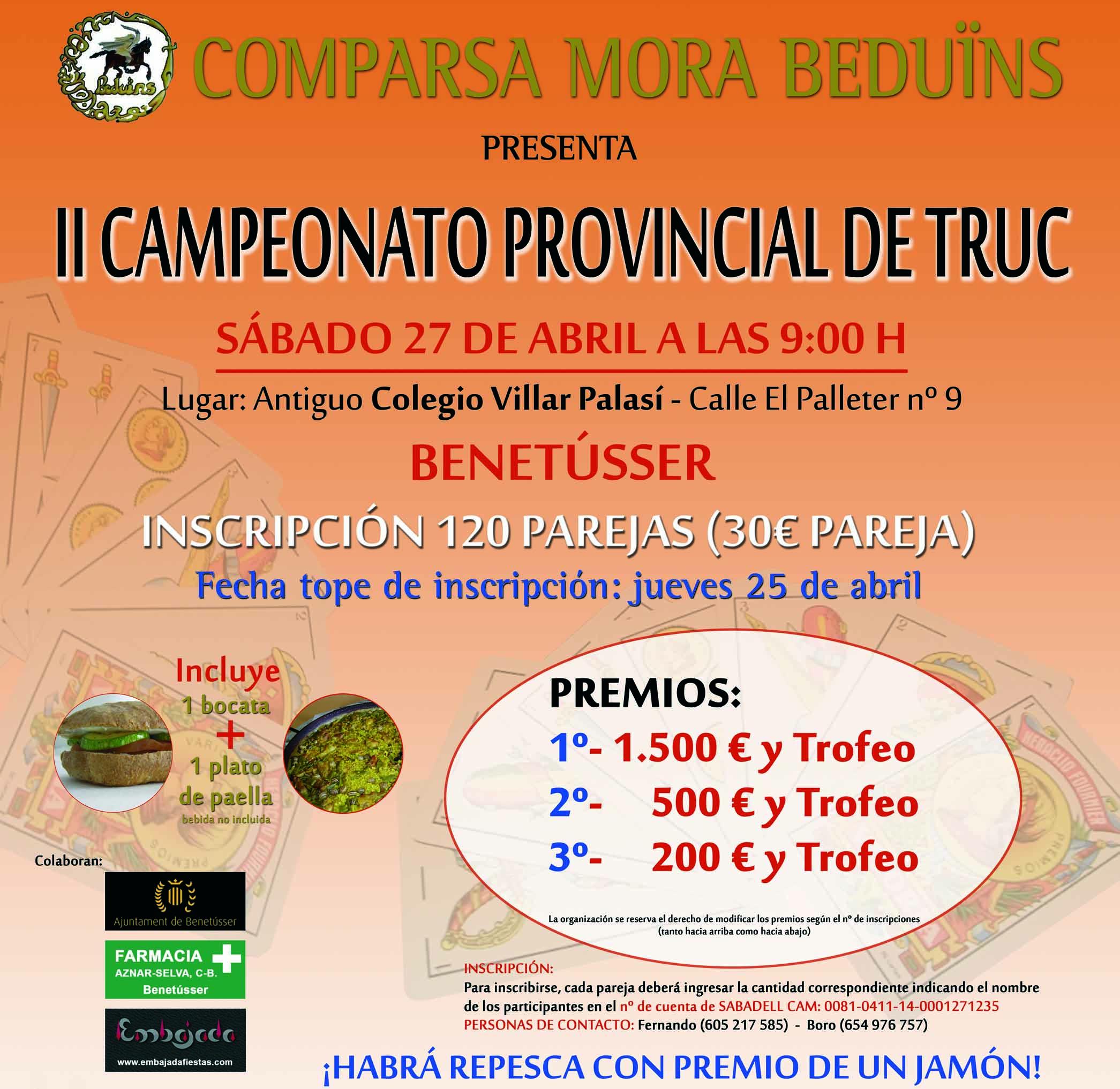 campeonato truc 2013 beduins