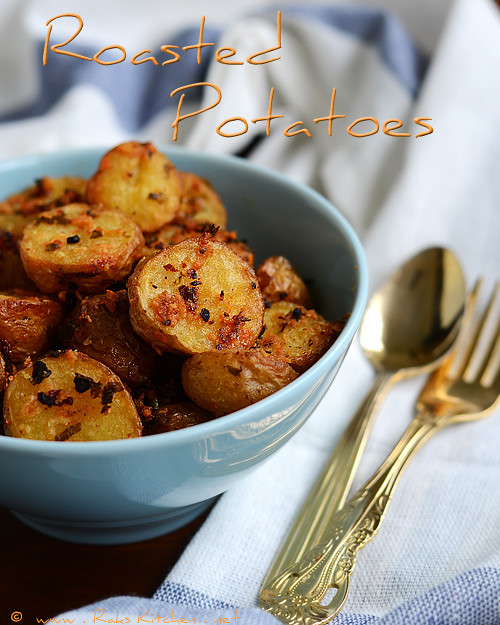 oven roasted baby potatoes recipe