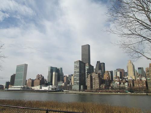 Franklin D. Roosevelt Four Freedoms Park, NYC. Nueva York
