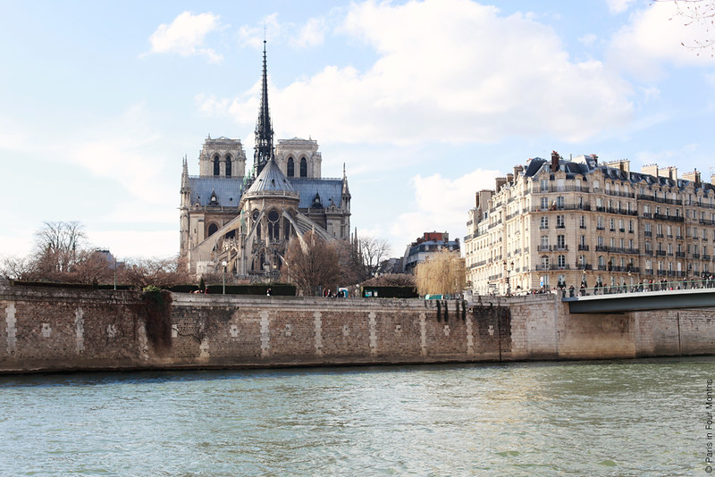 Beautiful Notre Dame on a beautiful day by Carin Olsson (Paris in Four Months)