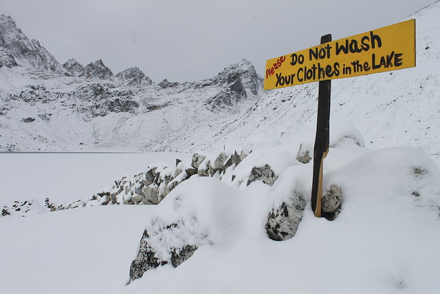 Gokyo, mid January