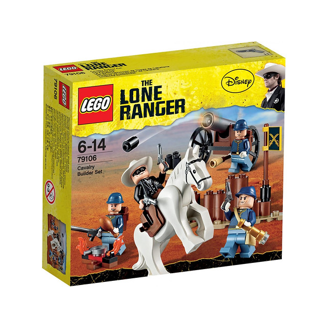 LEGO The Lone Ranger 79106 - Cavalry Builder Set - BoxArt