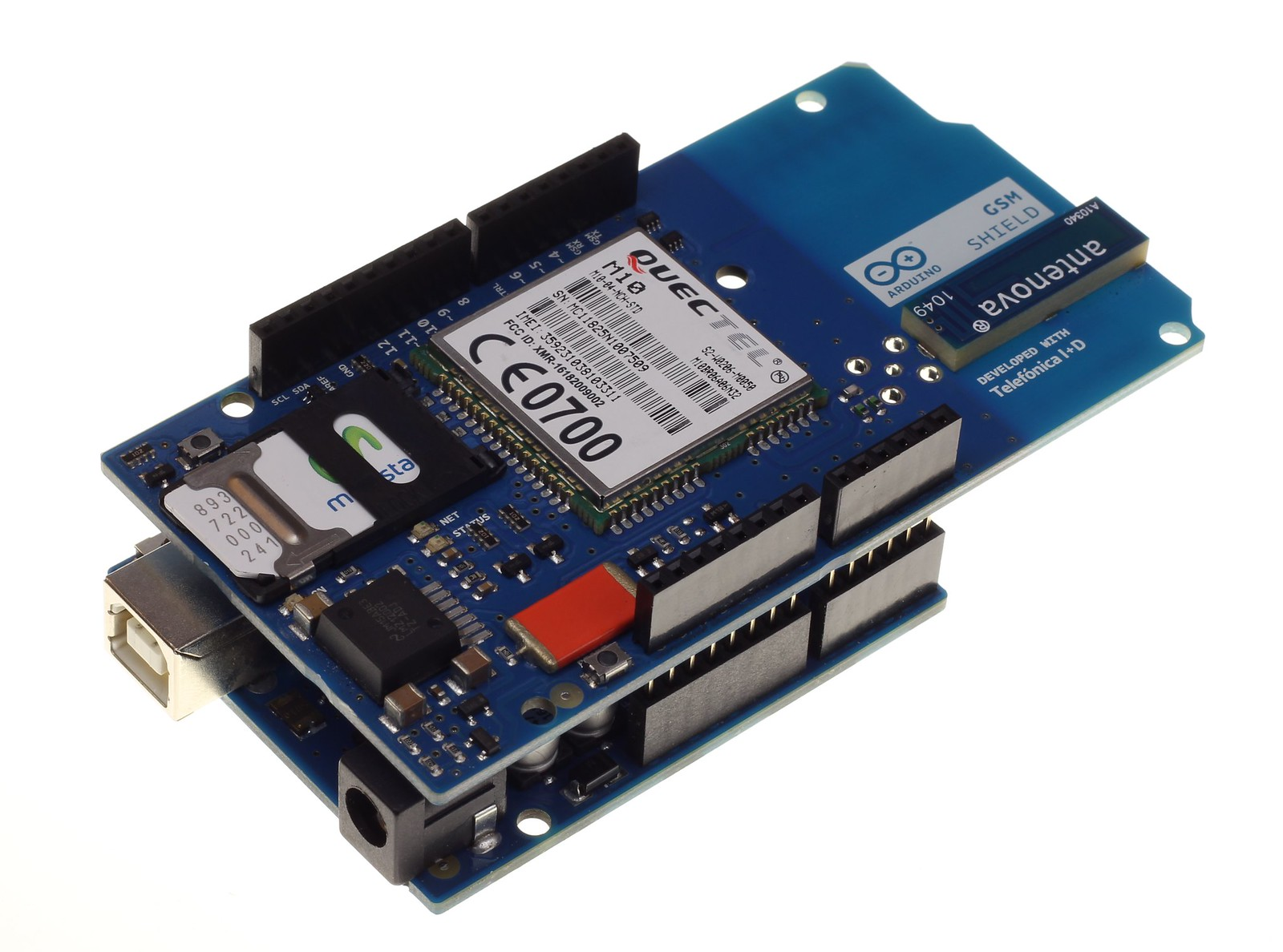 Arduino releases gsm shield with global data tariff the