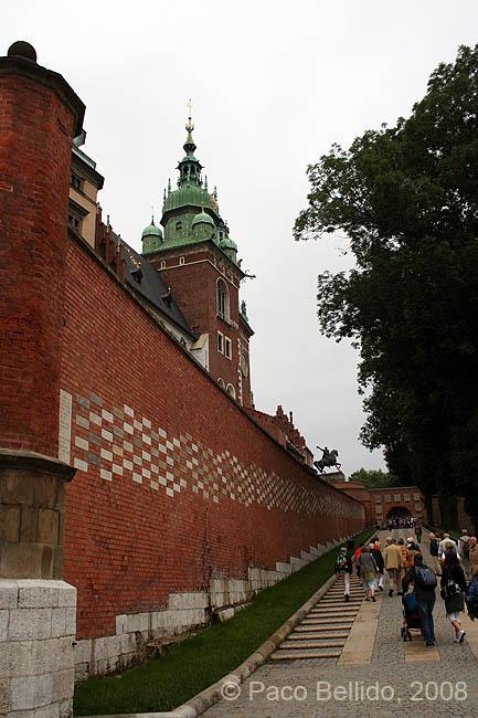 Subida a Wawel. © Paco Bellido, 2008